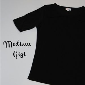 LuLaRoe Medium Black Gigi Top